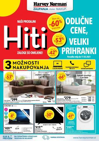 Harvey Norman katalog - 03.02.2021 - 17.02.2021.