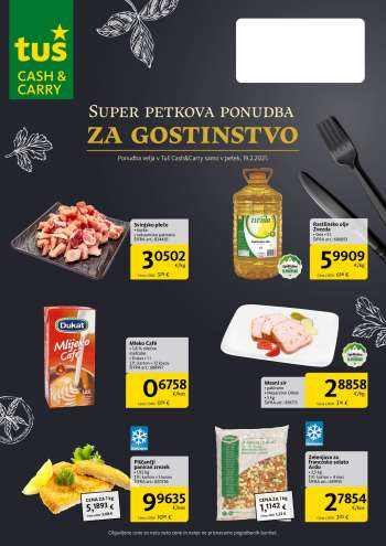 Tuš Cash & Carry katalog - 19.02.2021 - 19.02.2021.